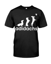 Adidachs dachshund Classic T-Shirt front