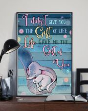 I Didnt Give You The Gift Of Life Gave Me voi 11x17 Poster lifestyle-poster-2