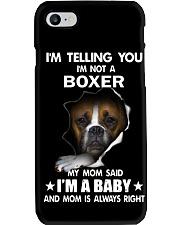 I'm telling you i'm not a boxer Phone Case thumbnail