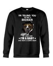 I'm telling you i'm not a boxer Crewneck Sweatshirt thumbnail