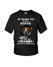 I'm telling you i'm not a boxer Youth T-Shirt thumbnail