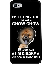 Im telling you im not a chow chow edition Phone Case thumbnail
