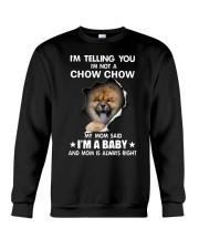 Im telling you im not a chow chow edition Crewneck Sweatshirt thumbnail