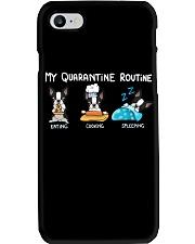 My Quarantine Routine boston2 Phone Case thumbnail