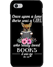 chihuahua once upon a time there was a girl Phone Case thumbnail