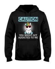 Caution Unicorn T-shirt best shirt for you Hooded Sweatshirt tile