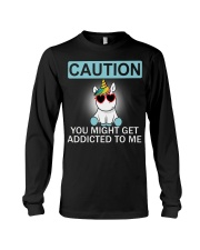 Caution Unicorn T-shirt best shirt for you Long Sleeve Tee thumbnail