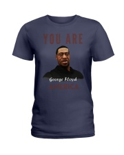 george floyd4 Ladies T-Shirt thumbnail
