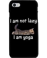 Cats Cute T-shirt Cats Yoga Funny Phone Case thumbnail