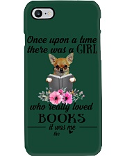 chihuahua once upon a time there was a girl Phone Case i-phone-7-case