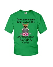 chihuahua once upon a time there was a girl Youth T-Shirt thumbnail