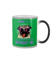 chihuahua once upon a time there was a girl Color Changing Mug thumbnail