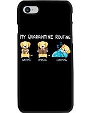 My Quarantine Routine Labrador Retriever2 Phone Case thumbnail
