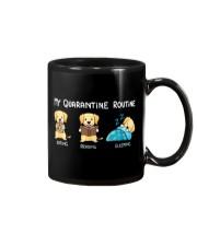 My Quarantine Routine Labrador Retriever2 Mug thumbnail