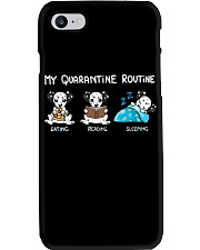 My Quarantine Routine Dalmatian Phone Case thumbnail