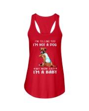Boxer I'm Telling You I'm Not A Dog Ladies Flowy Tank thumbnail