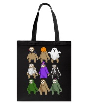 sloth halloween Tote Bag thumbnail