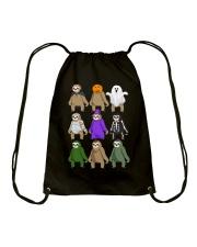 sloth halloween Drawstring Bag thumbnail