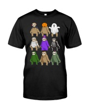 sloth halloween Classic T-Shirt front