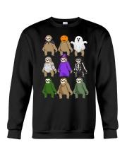 sloth halloween Crewneck Sweatshirt thumbnail