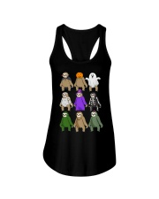 sloth halloween Ladies Flowy Tank thumbnail