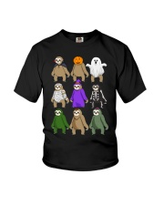 sloth halloween Youth T-Shirt thumbnail