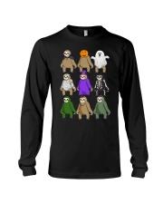 sloth halloween Long Sleeve Tee thumbnail