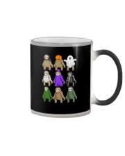 sloth halloween Color Changing Mug thumbnail