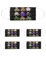 sloth halloween Cloth Face Mask - 5 Pack thumbnail