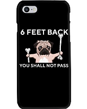 pug 6 feet back Phone Case thumbnail