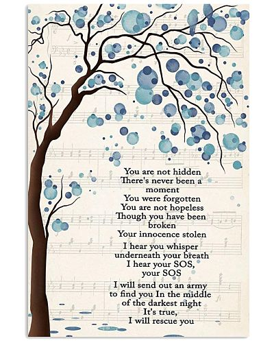 Lauren Daigle Poster Rescue Song Lyric