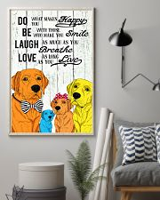 Do Be Laugh Love Labrador 11x17 Poster lifestyle-poster-1