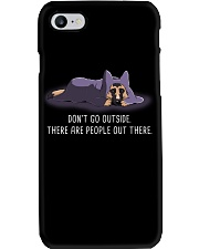 Don'T Go Outside There Are People Out german 2 Phone Case thumbnail