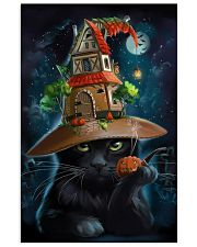 Black Cat Wearing Halloween Hat Poster Painting Living Room Ideas 11x17 Poster front