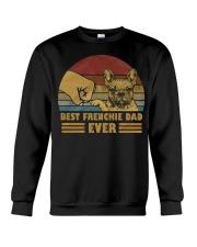 Best Frenchie Dad Ever Crewneck Sweatshirt thumbnail