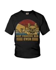 Best Frenchie Dad Ever Youth T-Shirt thumbnail