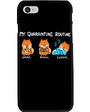 My Quarantine Routine Pomeranian2 Phone Case thumbnail