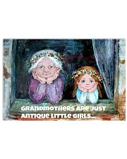 Grandmothers Are Just Antique Little Girls Poster Cute Prints For Wall 17x11 Poster front