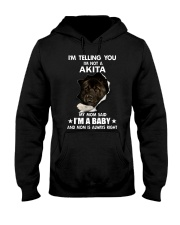 i'm telling you i'm not a akita Hooded Sweatshirt thumbnail
