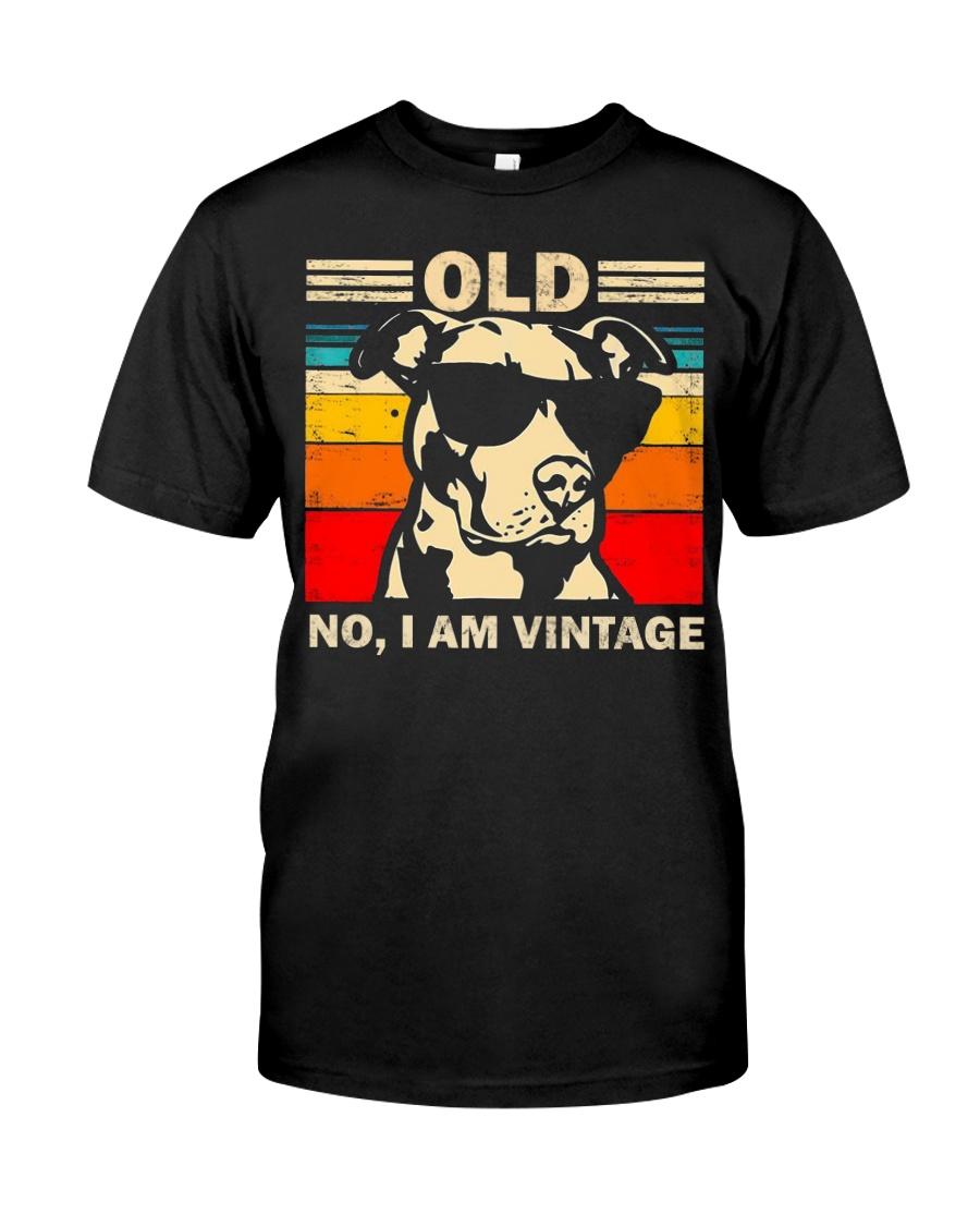 PITBULL old 1 Classic T-Shirt