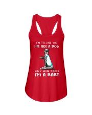 Great Dane I'm Telling You I'm Not A Dog Ladies Flowy Tank thumbnail