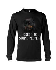 I Only Bite Stupid People  Long Sleeve Tee thumbnail