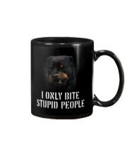 I Only Bite Stupid People  Mug thumbnail