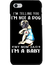 Mastiff I'm Telling You I'm Not A Dog Phone Case thumbnail