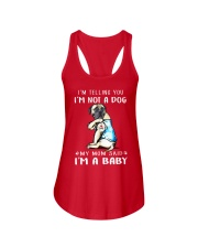 Mastiff I'm Telling You I'm Not A Dog Ladies Flowy Tank thumbnail
