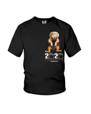 2020 The Year When Sht Got Rea golden Youth T-Shirt tile