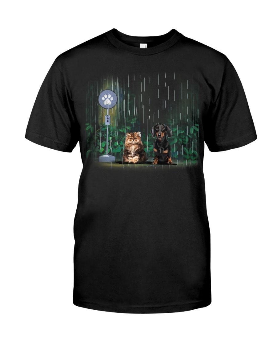 persian cats - dachshund Classic T-Shirt