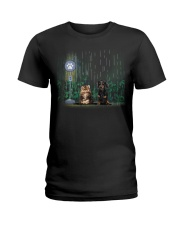 persian cats - dachshund Ladies T-Shirt thumbnail