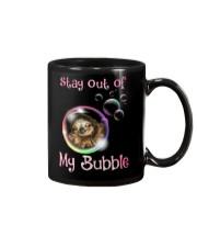 stay out of my bubble sloth Mug thumbnail