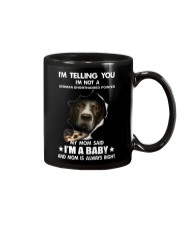 I'm telling you i'm not a german shorthaired point Mug thumbnail